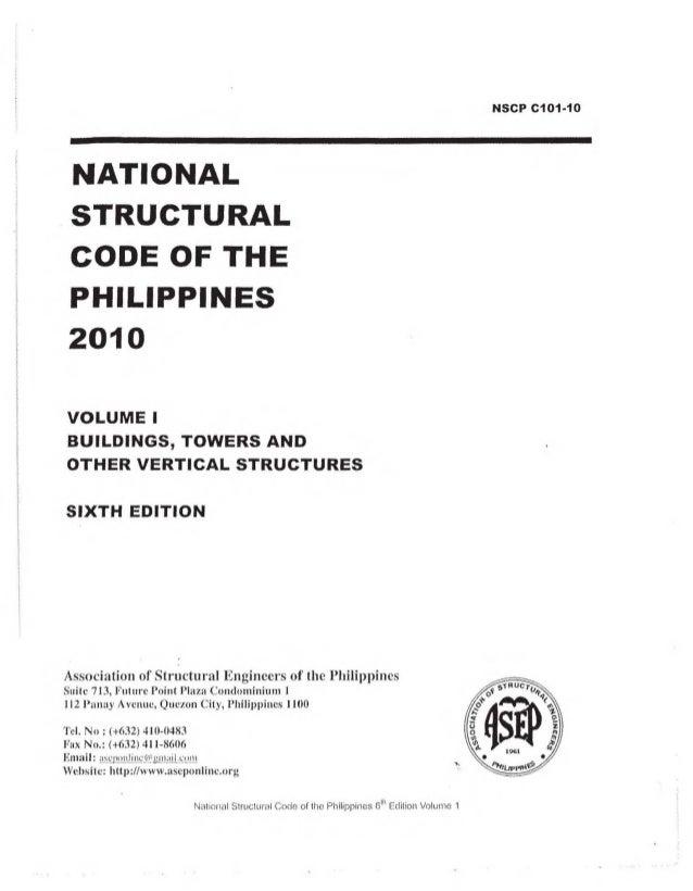 NSCP 2010 , Volume 1 Slide 2