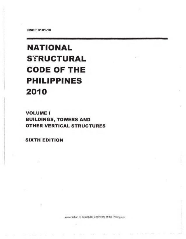 NSCP 2010 , Volume 1 Slide 3