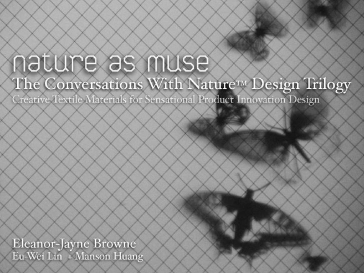 The Conversations With Nature Design Trilogy Slide 2