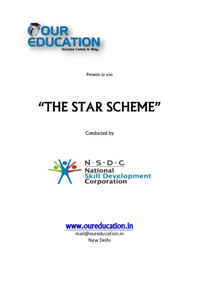 Nsdc star project in association with ppt video online download.