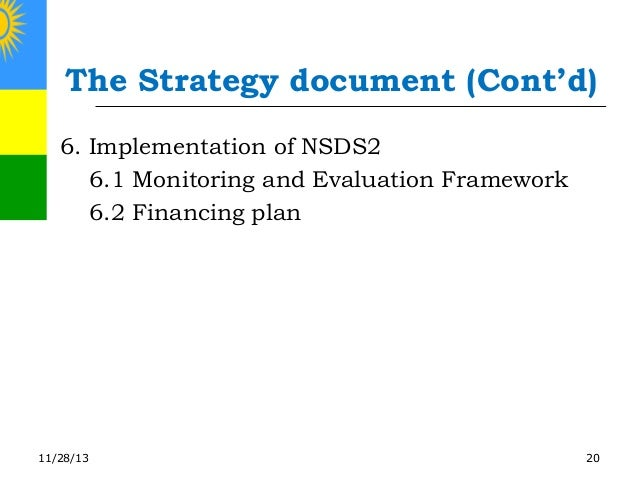 Second National Strategy for the Development of Statistics ...