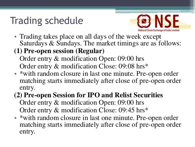 Weekly options trading commenced on nse in