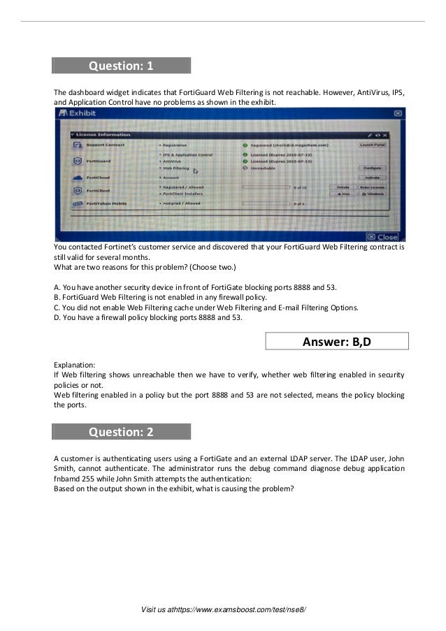 Nse8 study guide
