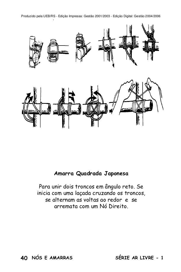 Produzido pela UEB/RS - Edição Impressa: Gestão 2001/2003 - Edição Digital: Gestão 2004/2006                     Amarra Qu...