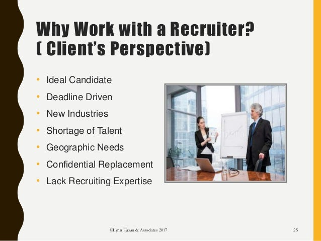 working with a recruiter