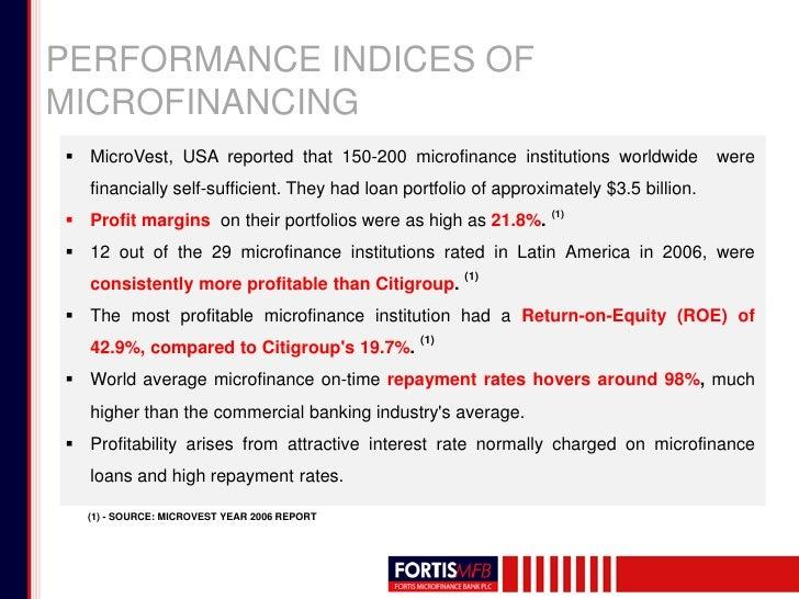 microfinance institutions in nigeria