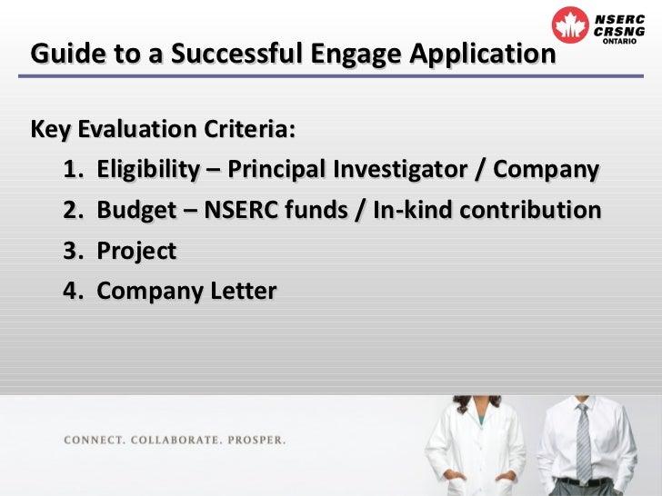 NSERC Engage Grant Slide 3
