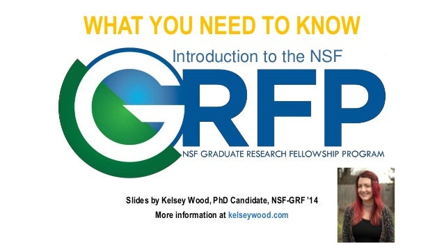 WHAT YOU NEED TO KNOW Slides by Kelsey Wood, PhD Candidate, NSF-GRF '14 More information at kelseywood.com Introduction to...