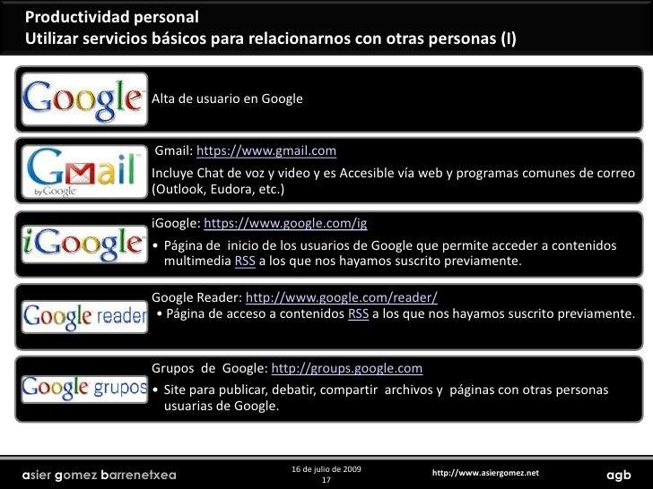 Productividad personal<br />Ejemplo de Google streetview<br />