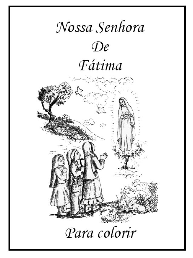 Historia De Fatima Colorir