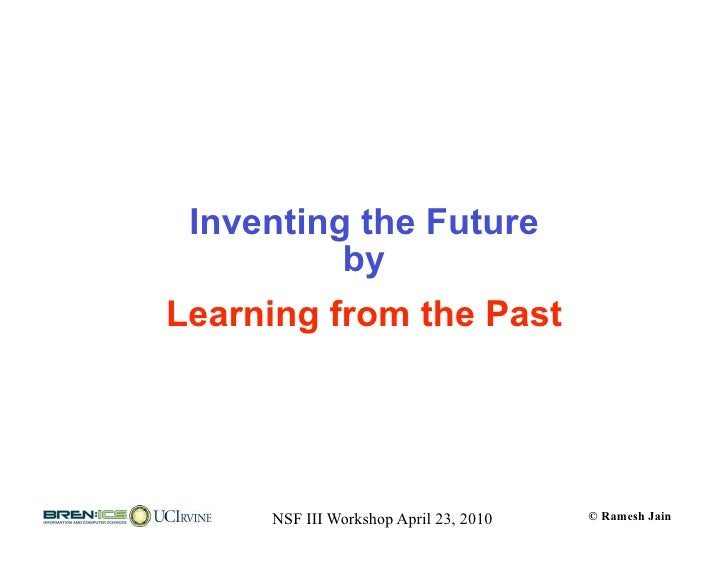 Nsf iii events and experiences 100422 Slide 3