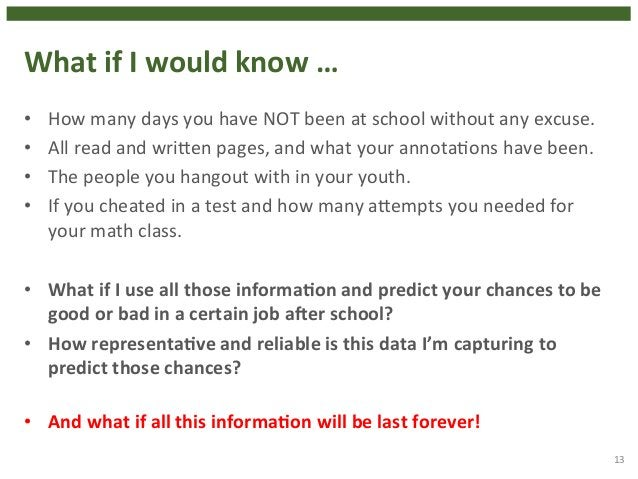 What  if  I  would  know  …  • How  many  days  you  have  NOT  been  at  school  without  any  excuse.  • All  read  and ...