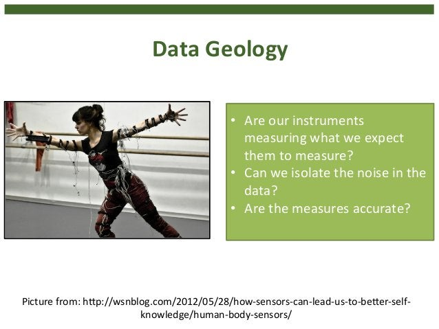Data  Geology  FP7  LACE  –  Hendrik  Drachsler,  @Hdrachsler,  28  October  2014  19  • Are  our  instruments  measuring ...