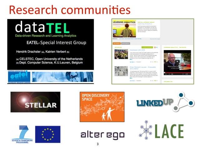 Research  communi4es  3