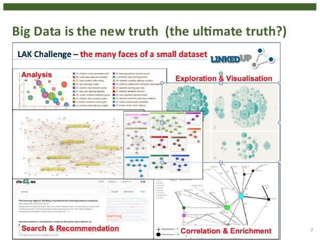 7  Big  Data  is  the  new  truth  (the  ulHmate  truth?)