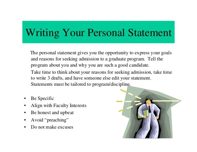 personal statement graduate school neuroscience
