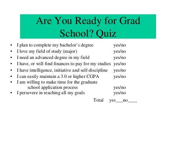 Nsf summer reu seminar   applying to graduate school   v Slide 3