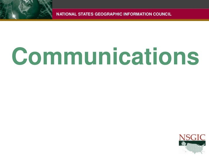 Communications<br />