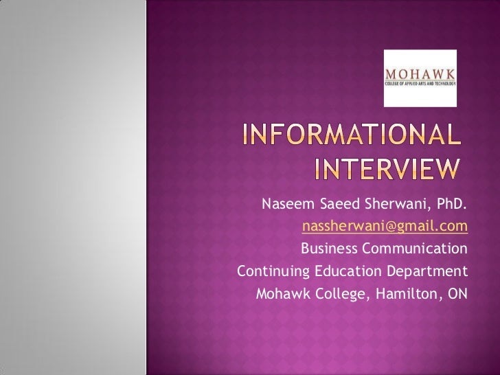 Naseem Saeed Sherwani, PhD.         nassherwani@gmail.com         Business CommunicationContinuing Education Department  M...