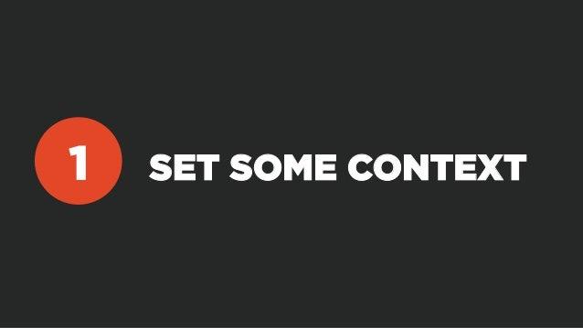 SET SOME CONTEXT1