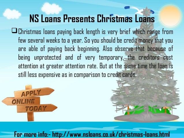 6 ns loans presents christmas - Christmas Loans No Credit Check