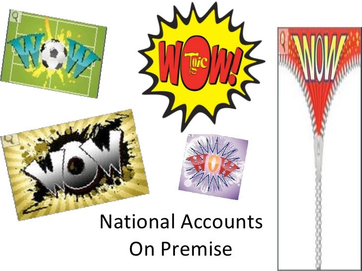 National Accounts On Premise