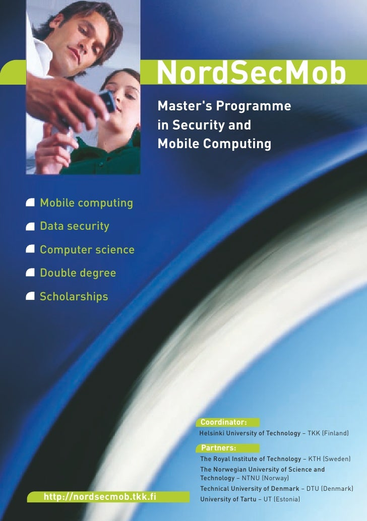 NordSecMob                            Master's Programme                            in Security and                       ...