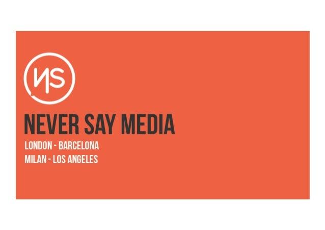 CLIENT: TEDX BOLOGNA                 BRAND:CAMPAIGN: PASSIONE E CREATIVITA' - TRAILER   REFERENCE: INITIAL SEEDING REPORT ...