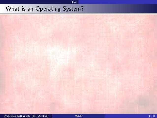 recent trends in operating system