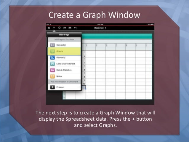 steps to create graphics How can the answer be improved.