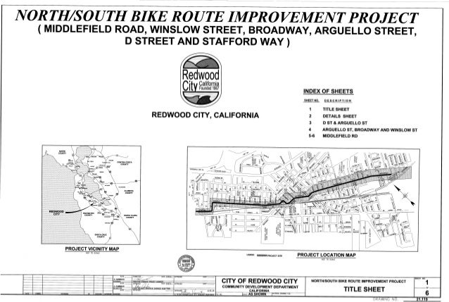 Redwood City North South Route Improvements 1