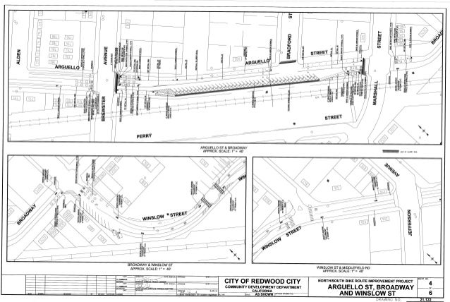 Redwood City North South Route Improvements 4