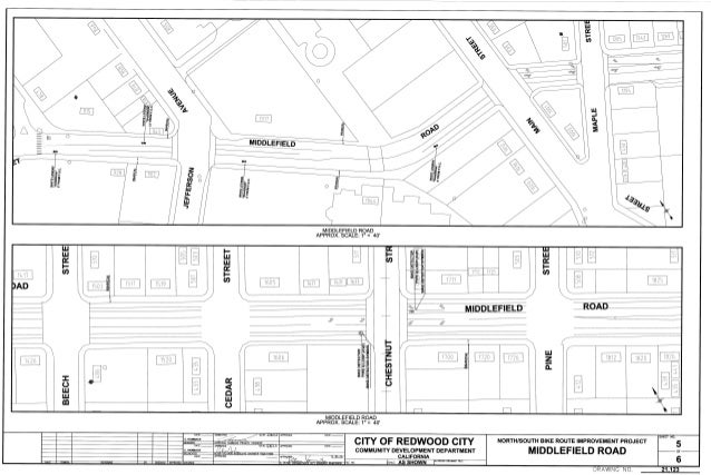 Redwood City North South Route Improvements 5
