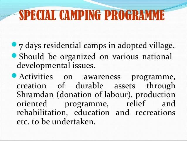 camping report writing