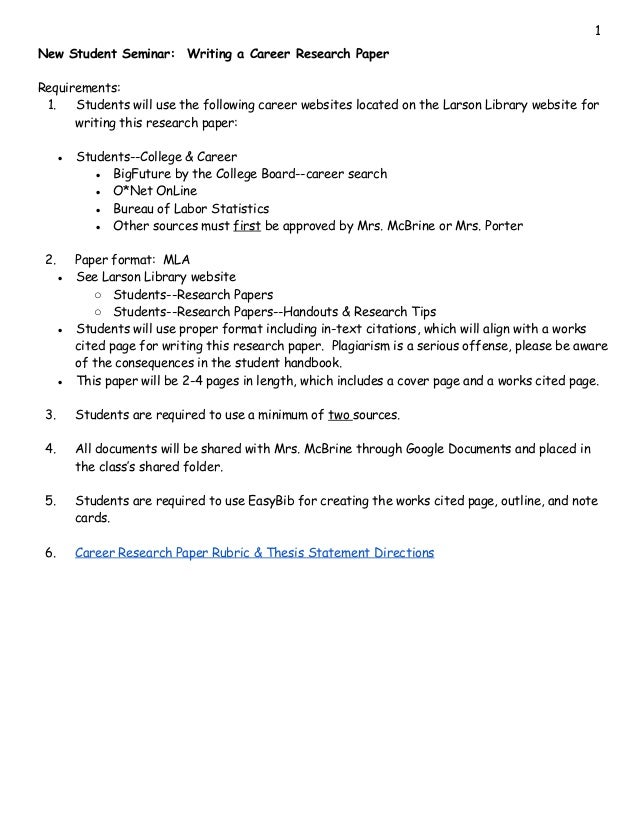 Career research paper requirements the big bang theory the big bran hypothesis full episode