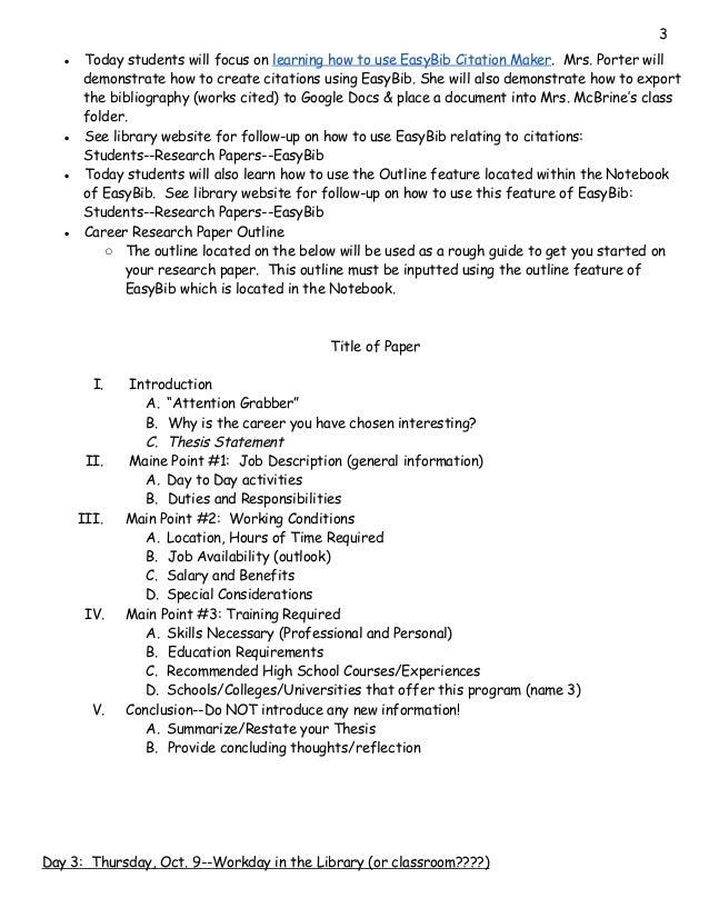 Professional term paper