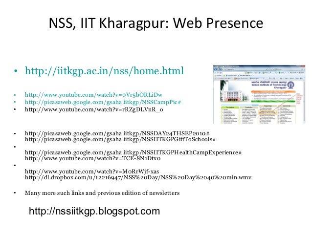 Nss iit kharagpur orientation program 2016 nss altavistaventures Gallery