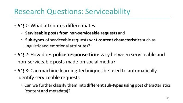 Social Media and Policing: Computational Approaches to