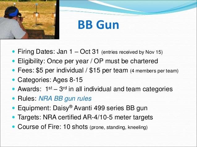 Oklahoma District Shooting Sports Presentation