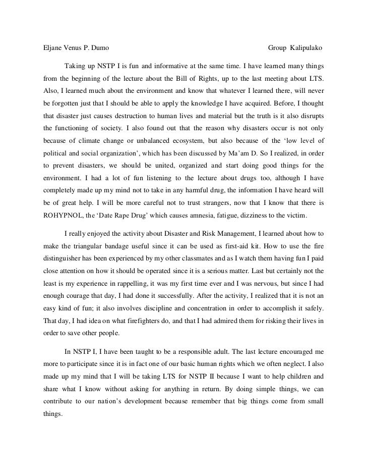 Essay format english