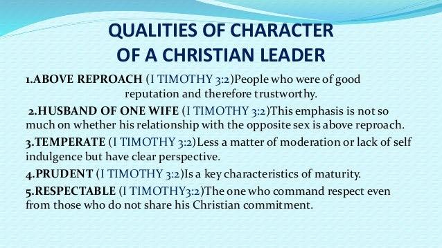 Christian teen leadership
