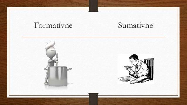 Nástroje formatívneho hodnotenia Slide 3