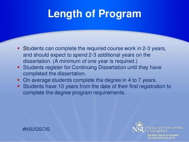 gscis dissertation guide
