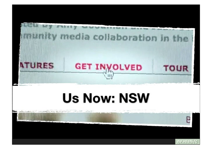 Us Now: NSW