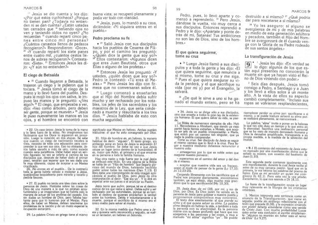 Biblia Catolica Nuevo Testamento Evangelio De Marcos Parte 3 De 27
