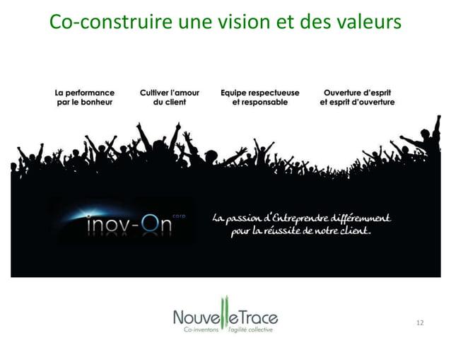 12  Co-construire une vision et des valeurs