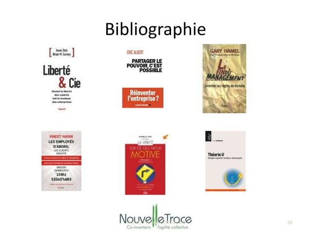 Bibliographie  L'Art du Pouvoir Collaboratif 30