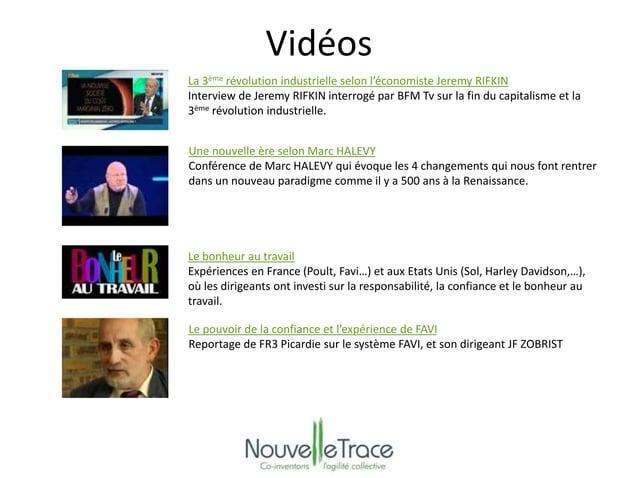 Vidéos  La 3ème révolution industrielle selon l'économiste Jeremy RIFKIN  Interview de Jeremy RIFKIN interrogé par BFM Tv ...