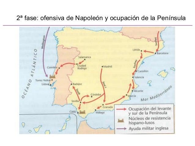 2ª fase: ofensiva de Napoleón y ocupación de la Península