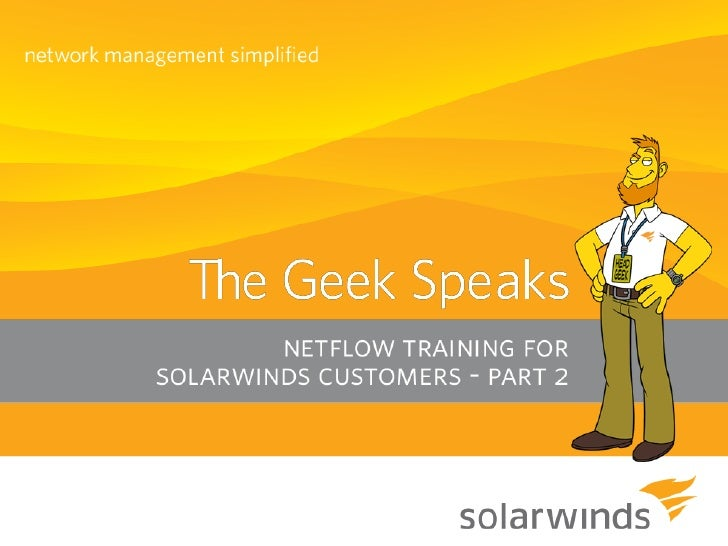 "Introduction  A big ""Howdy"" from SolarWinds   based in Austin, Texas    » Josh Stephens - Head Geek, Monster Blogger,    ..."